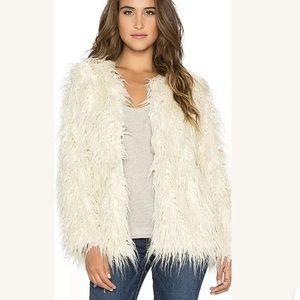 SHOW ME YOUR MUMU BOHEMIA JACKET Faux Fur Coat M